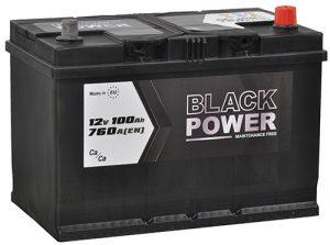 Black Power 100Ah Japan P+
